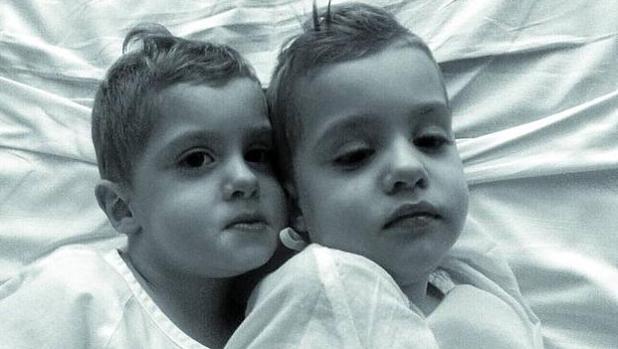 Los hermanos mellizos Ibai y Ekain