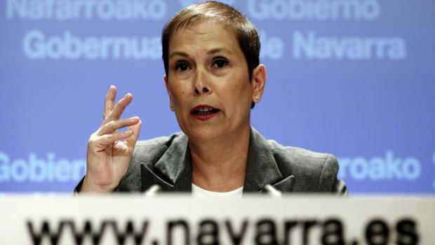 La presidenta del Ejecutivo de Navarra, Uxue Barkos