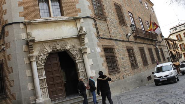 Fachada de la Audiencia Provincial de Toledo