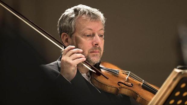 El músico Fabio Biondi