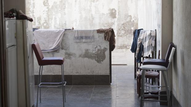 Vivienda okupada en Madrid