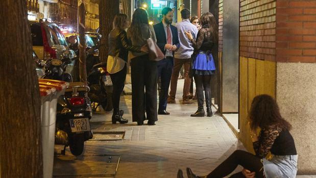 Los bares de Ponzano llenan sus terrazas, sobre todo, los fines de semana, lo que ha despertado las quejas vecinales por el ruido que generan