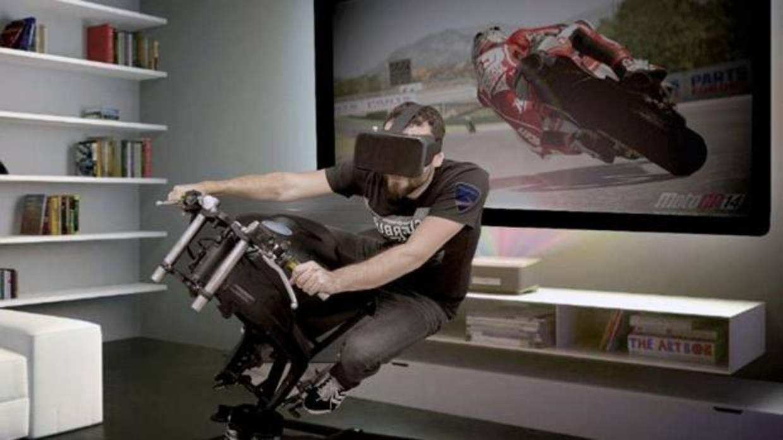 Llega el primer simulador de motos doméstico