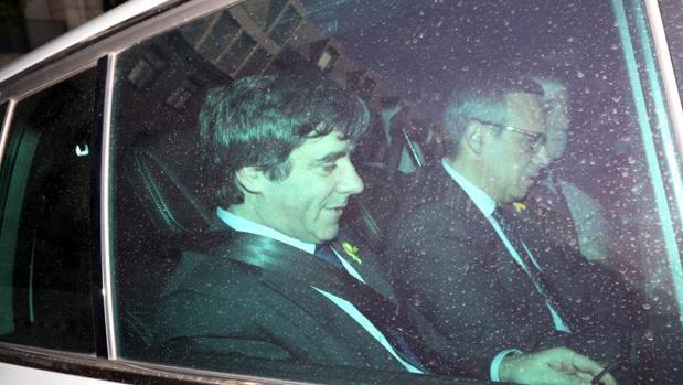 Carles Puigdemont, en Berlín