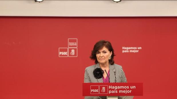 El PSOE critica la presencia de los sindicatos en la manifestación por los líderes independentistas presos