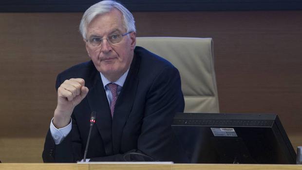 Michel Barnier, jefe negociador de la Unión Europea para el Brexit, en el Congreso