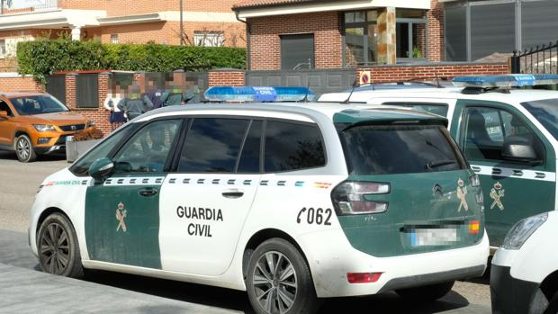 La Guardia Civil en el lugar del suceso