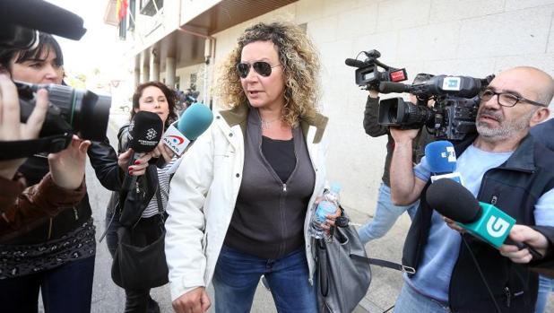 La madre de Diana Quer, Diana López-Pinel