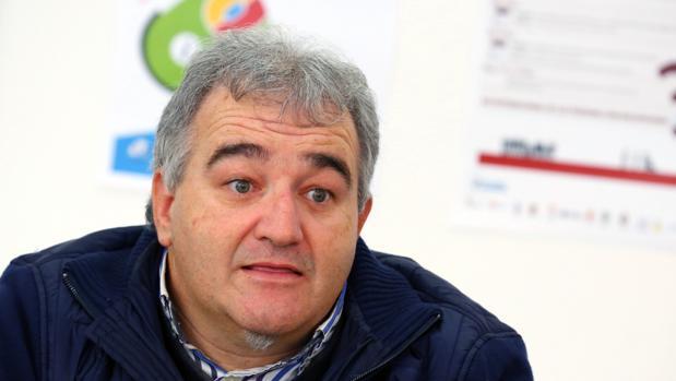 El presidente de la Asociación de Minusválidos del Bierzo, AMBI, Jose Antonio Fierro