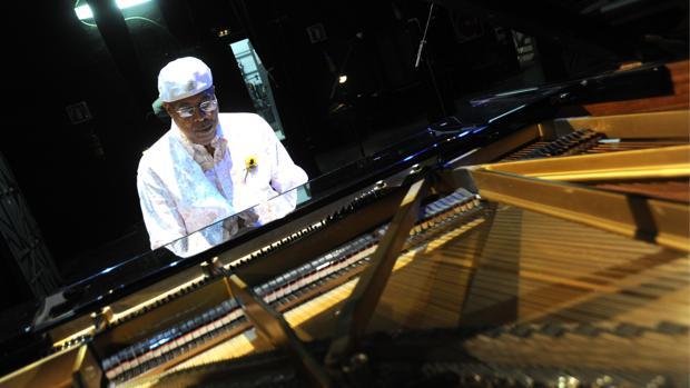 El pianista cubano Chucho Valdés