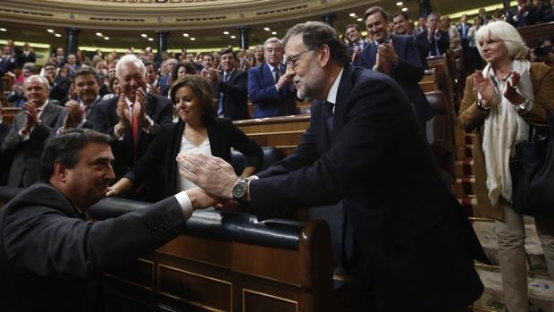 El PNV allana el camino a los Presupuestos de Rajoy