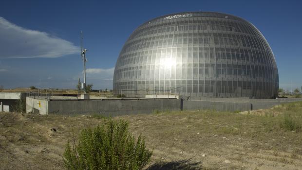 Edificio construido pero sin uso en lo que iba a ser el Campus de la Justicia