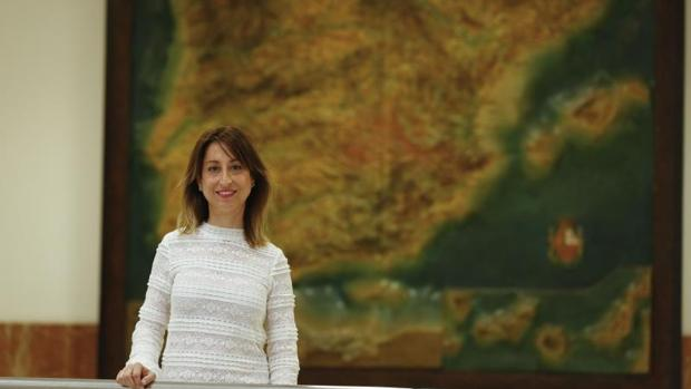 Margarita Merino, directora del IES Sierra del Valle de La Adrada (Ávila)