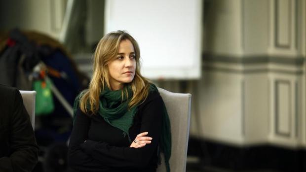 La diputada de Podemos y número dos de Errejón en su candidatura, Tania Sánchez