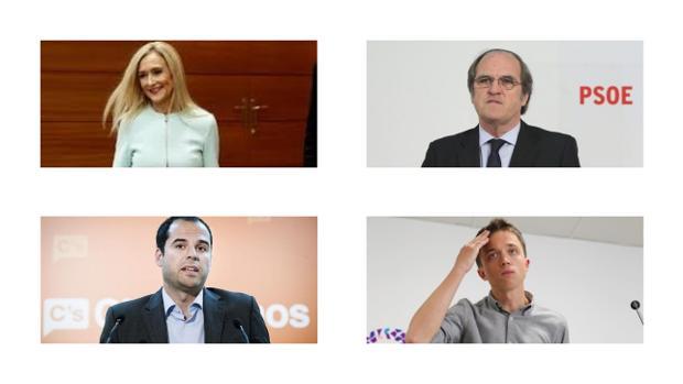 Cuatro avisperos políticos en Madrid a tan sólo un año de las elecciones