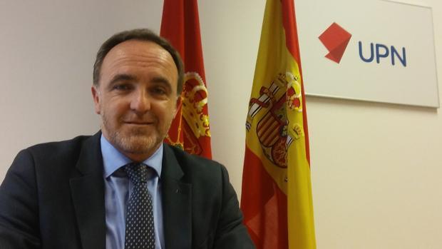 Esparza: «Uxue Barkos intenta que Navarra sea más euskaldún cada día»