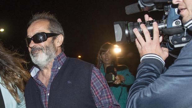 Salida de la carcel de Juan Lanzas. en 2013