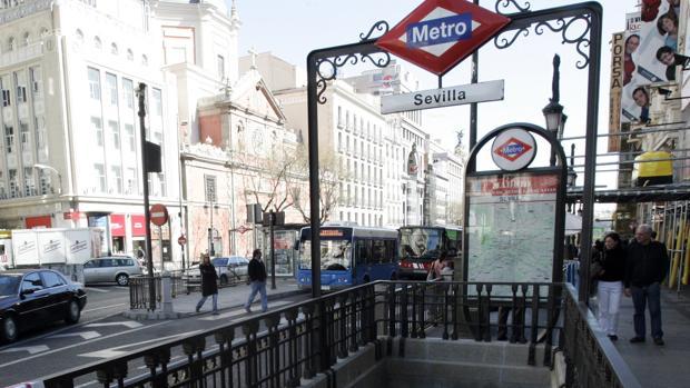 Cierra desde hoy la estación de Metro de Sevilla y los accesos a Gran Vía desde Montera