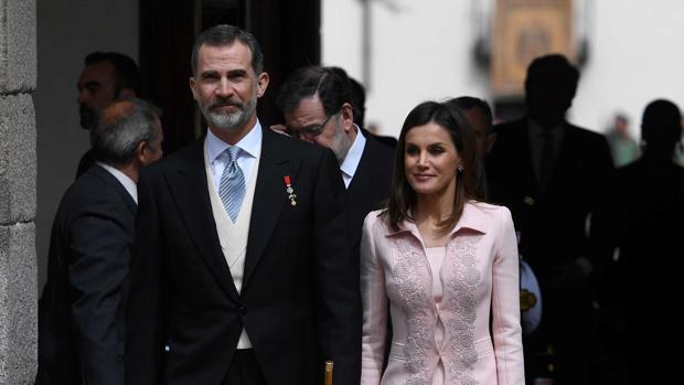 Don Felipe y Doña Letizia, en la Universidad de Alcalá de Henares
