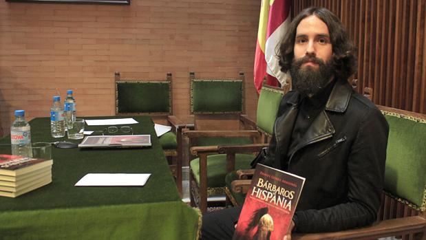 Daniel Gómez Aragonés, autor del libro «Bárbaros en Hispania»