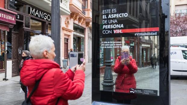 Campaña de sensibilización de VIH en Zamora