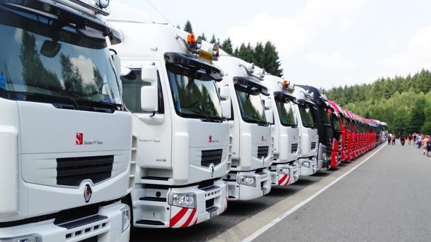 Imagen de archivo de camiones