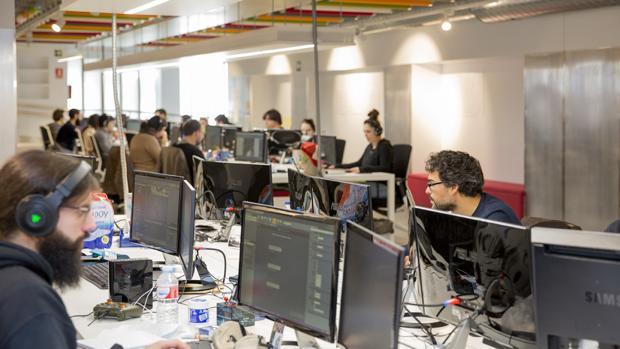 Instalaciones de la empresa gallega Gato Salvaje dedicada a los videojuegos