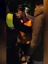 Cinco policías heridos tras una batalla campal en la estación de Linares-Baeza
