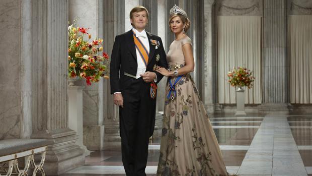 El Rey Willem-Alexander y la Reina de Holanda
