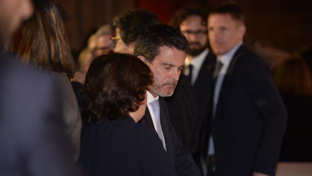 El exprimer ministro francés, en un acto en Barcelona