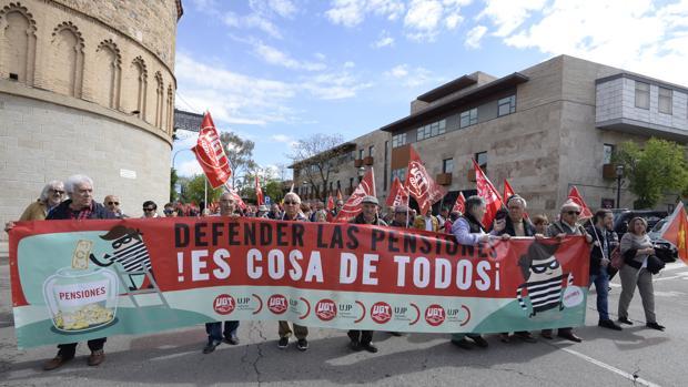 La manifestación en Toledo