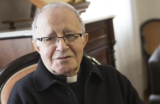 El obispo de Zamora, Gregorio Martínez, en una imagen de archivo