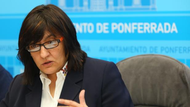 La concejal de Hacienda del Ayuntamiento de Ponferrada, Amparo Vidal