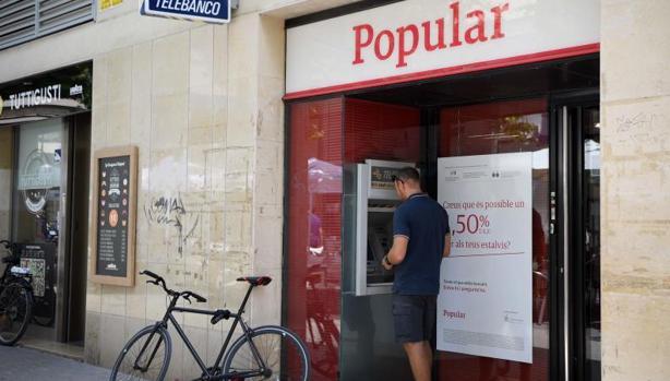 Una oficina del desaparecido Banco Popular