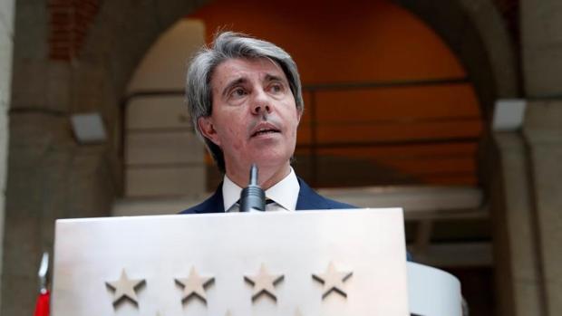 Foto de archivo del actual presidente en funciones de la Comunidad de Madrid, Ángel Garrido