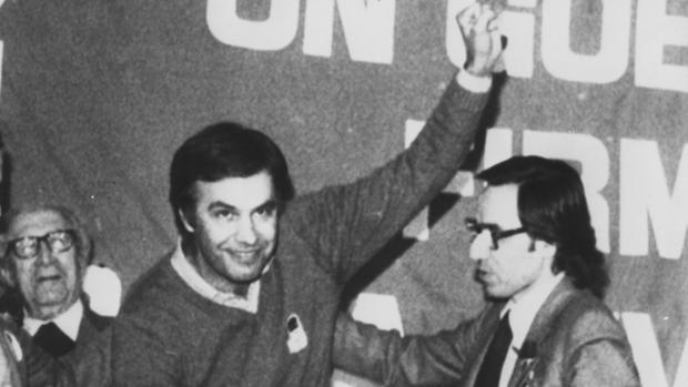 Feiipe González y Alfonso Guerra, en una fotografía de 1979