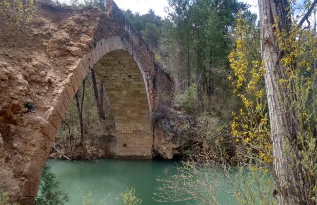 Puente de Chantre sobre el río Júcar