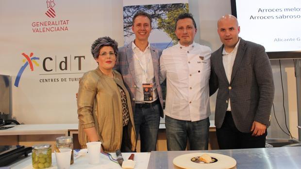 Imagen del acto celebrado en Alicante Gastronómica