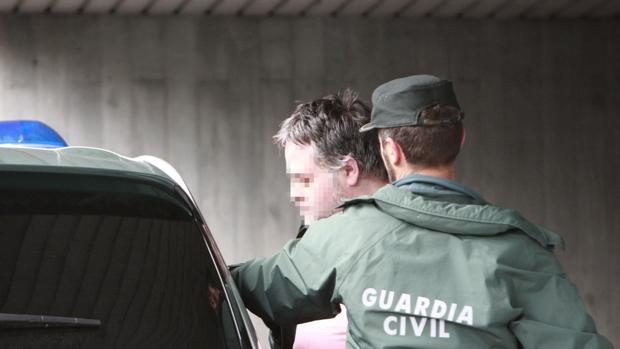 El filicida confeso, tras su detención hace ahora un año