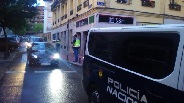 Registro policial en Madrid de la empresa de alquiler de cajas fuertes