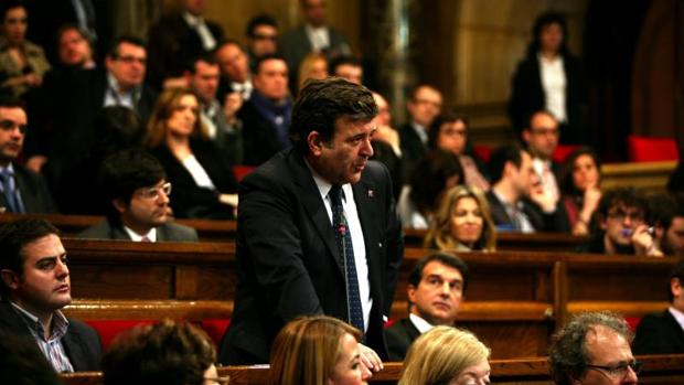 López Tena, durante su etapa como parlamentario