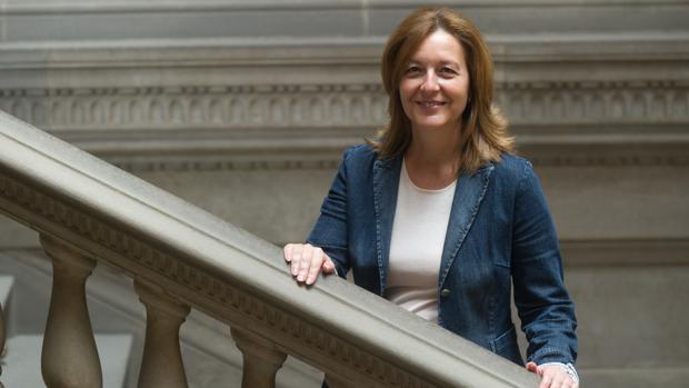 La líder de Ciudadanos en el Ayuntamiento de Barcelona