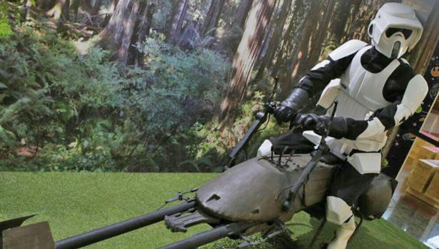 Imagen de una de las piezas que forman la exposición difundida por Expo-Wars