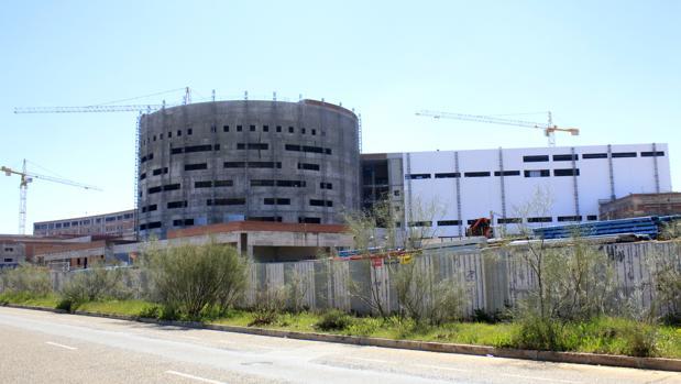 Obras del nuevo hospital de Toledo
