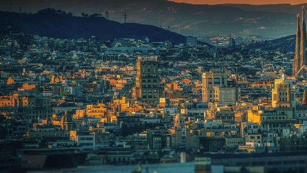 La ciudad de Barcelona en una imagen de archivo