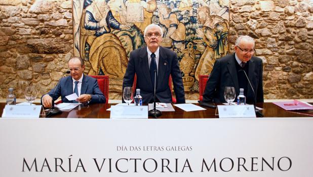 Pleno extraordinario de la Real Academia Galega en el Día das Letras
