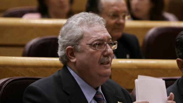 Pedro Agramunt en el Senado en una foto de archivo
