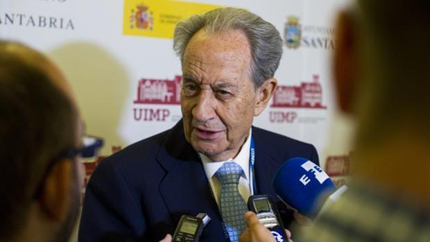 Miguel Villar Mir, presidente Grupo Villar Mir en una imagen de archivo