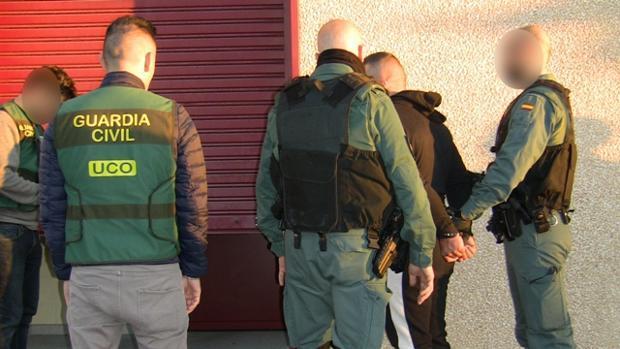 La Guardia Civil en una imagen de archivo