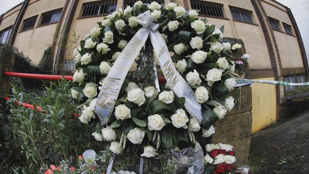 Nave de Asados en la que fue localizado el cuerpo de Diana el pasado 31 de diciembre